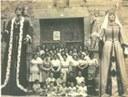 Jaume I i Violant d'Hongria.