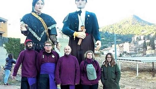 Cabrera de Mar - Colla convidada a les Festes de Sant Vicents.