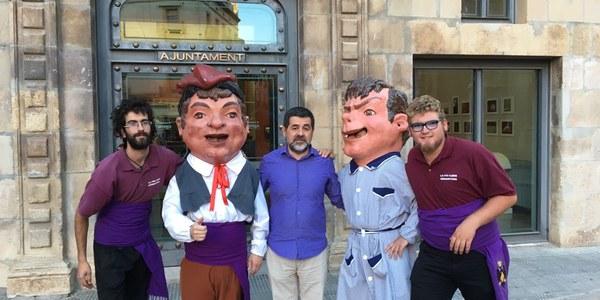 Inauguració del comptador fins al referèndum de l'1 d'octubre.