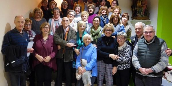 Grup de voluntaris a Berga